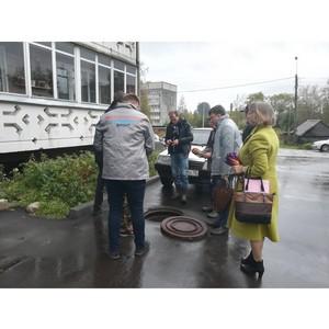 Активисты ОНФ в Карелии взяли на контроль ситуацию с водоотведением в Олонце