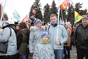 Челябинские активисты ОНФ приняли участие в митинг-концерте