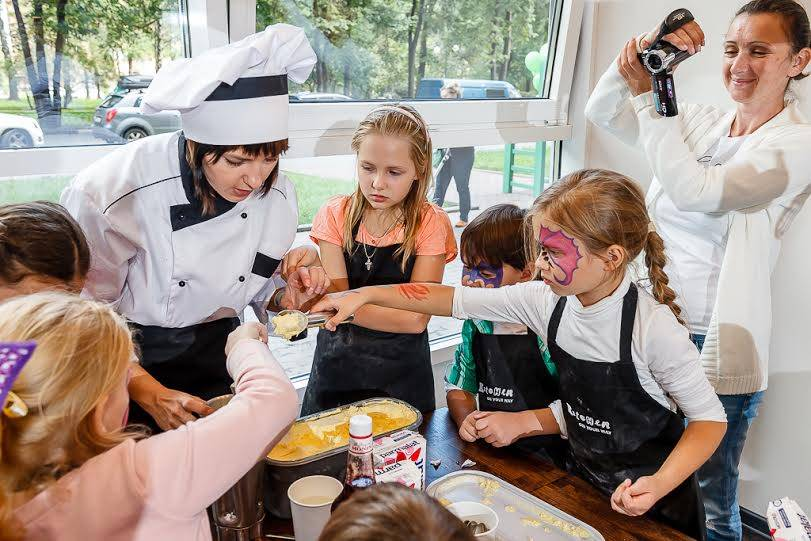 Кулинарный мастер-класс в Kitchen