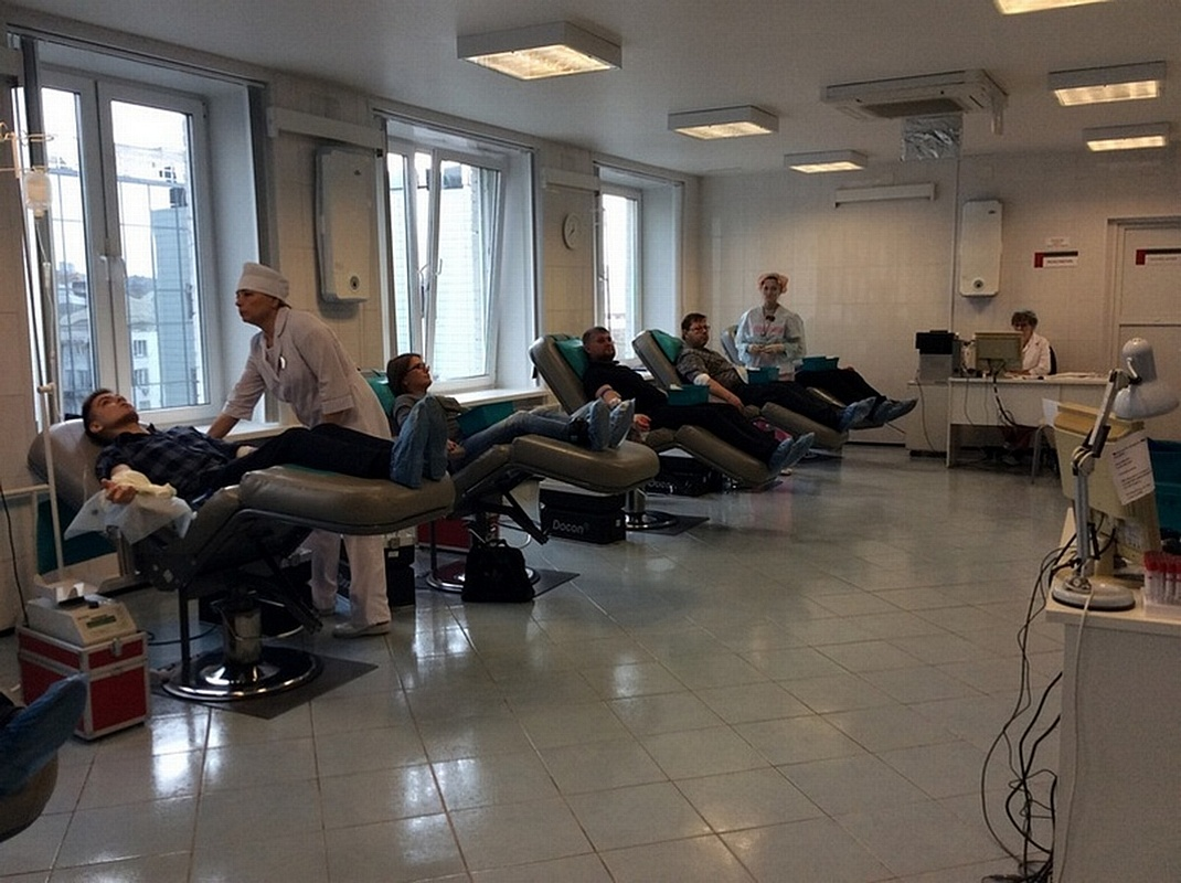 Донорство крови в регионах России: Красноярский край