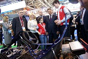 Фестиваль «От винта!» посетил Министр транспорта РФ М. Соколов