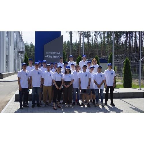 Студотряды Липецкэнерго посетили инновационную подстанцию