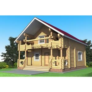 Деревянный дом из костромского леса от производителя