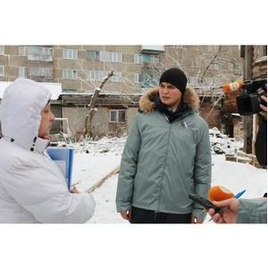 Активисты ОНФ держат на контроле ситуацию с жителями аварийного дома в Томске