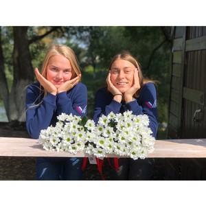 Вологодская команда «Молодежки ОНФ» присоединилась к всероссийской акции «Привет, ромашки!»