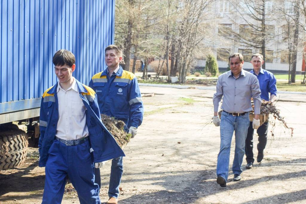 Глазовские электрические сети «Удмуртэнерго» стали лучшими в конкурсе «Благоустроенный город»