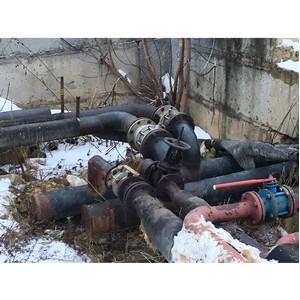 Активисты ОНФ выявили факты ненадлежащего содержания теплосетей в Ивановской области