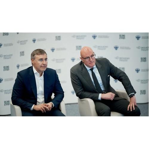 Чернышенко и Фальков провели стратегическую сессию