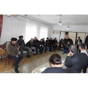 Активисты дагестанского отделения ОНФ по обращениям граждан посетили Ногайский район республики