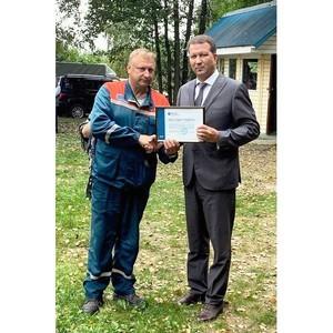 Хвастовичский РЭС «Калугаэнерго» отметил полувековой юбилей