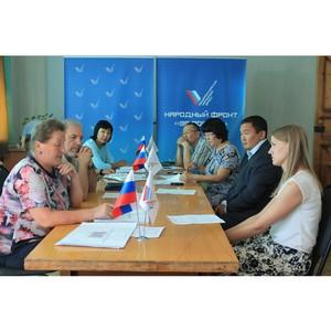 Активисты ОНФ добились учета мнения жителей при утверждении проектов благоустройства дворов Кызыла