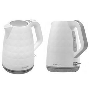 Комфортный и стильный: новый электрический чайник Scarlett SC-EK18P49