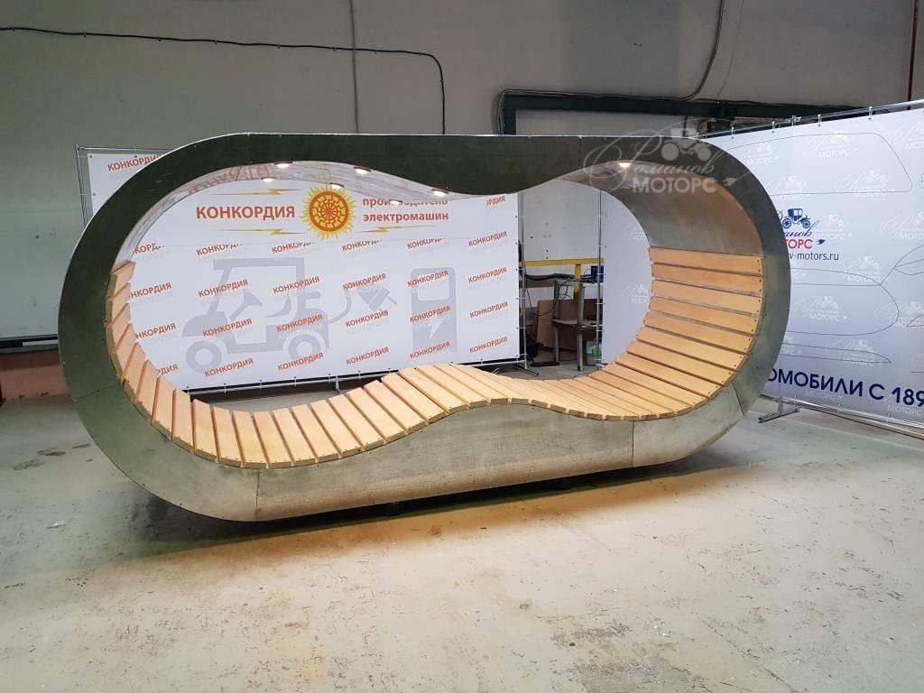 Скамейки нового поколения, как альтернативный источник энергии