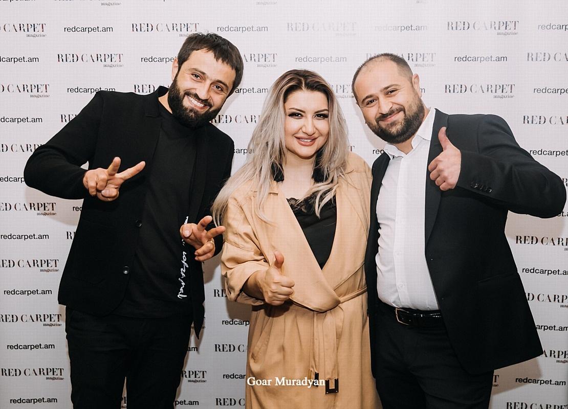 Презентация номера армяно-российского глянцевого журнала «Red Carpet»