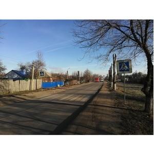 ОНФ добился устройства двух пешеходных переходов в Семилуках