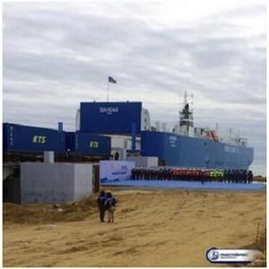 Запуск паромного комплекса увеличит транзитный грузопоток через Каспий