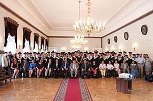 Юбилейный выпуск казанских магистров делового администрирования