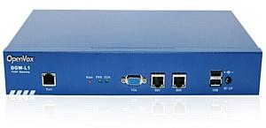 Максимально экономный новый цифровой VoIP шлюз OpenVox DGW-L1 T1/E1 для операторов и SMB