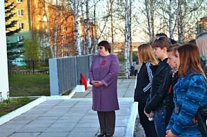 Добровольцы провели акцию «Свеча памяти»