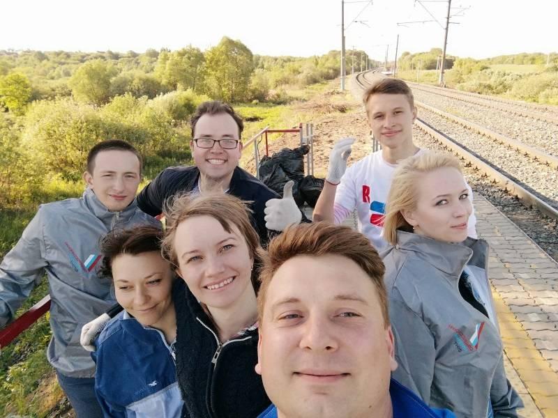 Активисты Народного фронта в Мордовии организовали плоггинг в Саранске