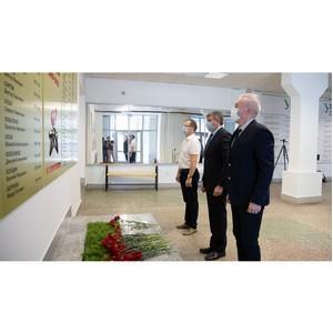 В УрФУ обновили мемориал студентам и сотрудникам, погибшим в годы ВОВ