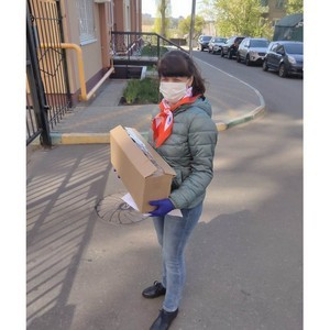 Активисты   Воронежэнерго оказывают содействие волонтерским штабам