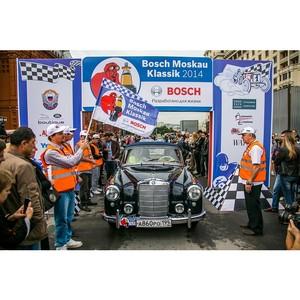Ралли ретро-авто и мотоциклов Bosch Moskau Klassik 2015 стартует в Москве