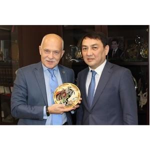 Уральскую ТПП посетил Генеральный консул Кыргызской Республики