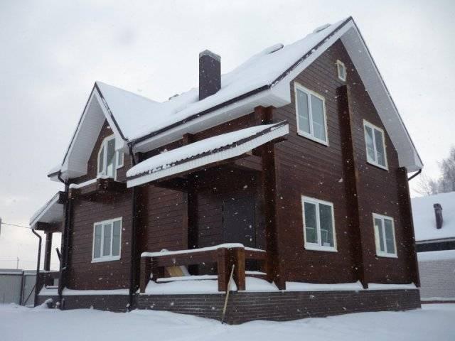 Деревянный дом за 1 месяц