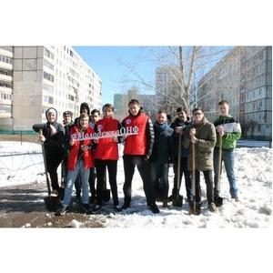 Команда «Молодежки ОНФ» организовала субботник в Уфе