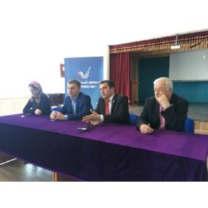 Активисты ОНФ провели семинар для студентов Чеченского государственного педагогического университета