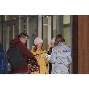 Рейд по раздаче светоотражающих фликеров на темных участках дорог провели в Вологде активисты ОНФ