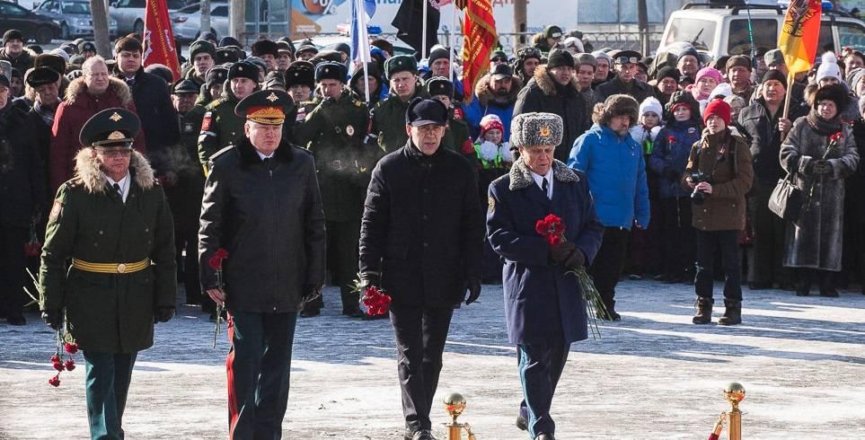 75-летие со  дня создания Уральского добровольческого танкового корпуса  отметили на Урале