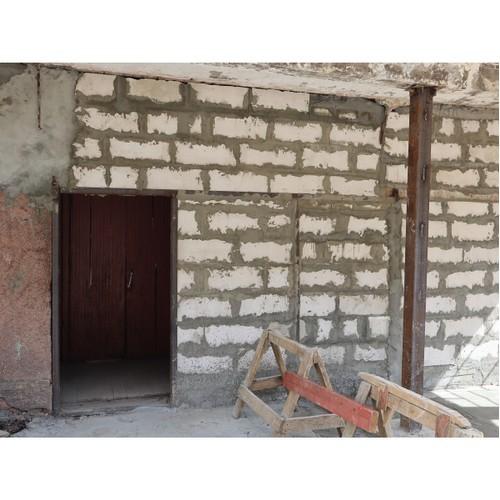 В Коми ликвидирована опасность обрушения подъезда дома в Сыктывкаре