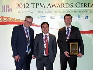 Компания Тетра Пак получила 11 наград Японского института управления производством