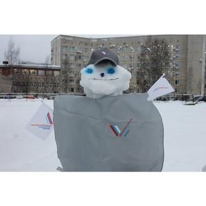 Активисты ОНФ в Коми провели в Сыктывкаре конкурс «Баттл снеговиков»