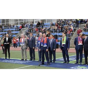 В университете стартовал межрегиональный футбольный турнир высшего дивизиона сезона