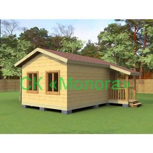 Деревянные дома от компании «Молога» дёшево