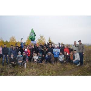 300 сосен и елей посадили сотрудники Кадастровой палаты по Республике Татарстан в пригороде Казани