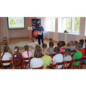 Энергетики Удмуртэнерго рассказали дошкольникам об энергосбережении и правилах электробезопасности