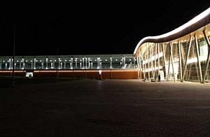 """Оборудование """"IntiLED"""" в архитектурном освещении железнодорожной станции """"Альпика-Сервис"""""""