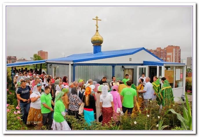 Кто вложит кирпичик в стены храма православных покровителей любви, семьи и верности?