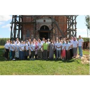 Союз Маринс Групп помог в восстановлении Храма Воскресения Христова