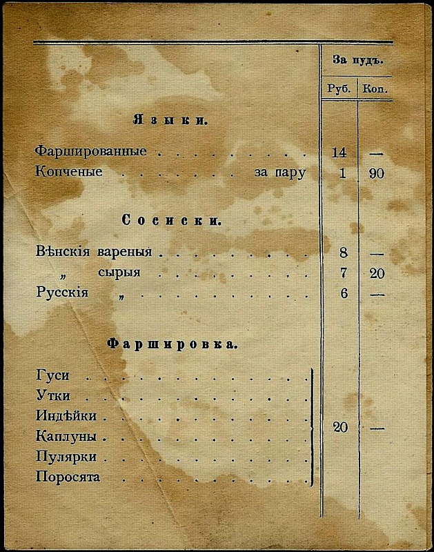 Жизнь и житие Николая Григорьева, колбасного короля России