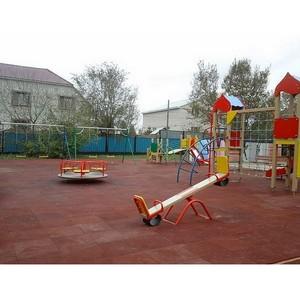 Skiff company Ltd. установил детскую площадку для некоммерческой организации Фонд «Саби»