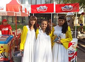 Сладкая награда от Ангарии за участие в карнавале.
