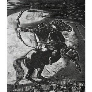 Печатная графика Александра Федорова Традиции и эпос Чувашского народа