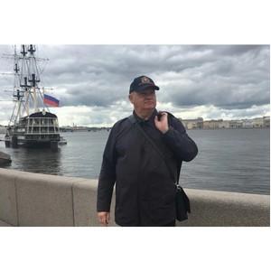 Писатель А.Лапин: «Петербург - книга, которую можно читать бесконечно»