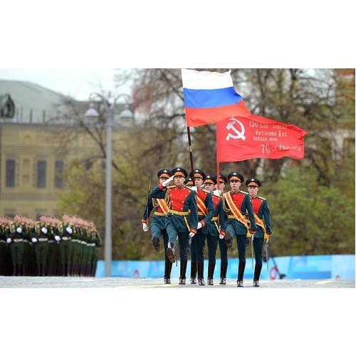 Выступление Президента РФ В. Путина на Параде Победы 9 мая 2021 года