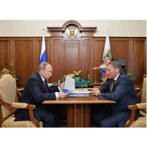 Титов представит Путину доклад о развитии высокотехнологичных компаний